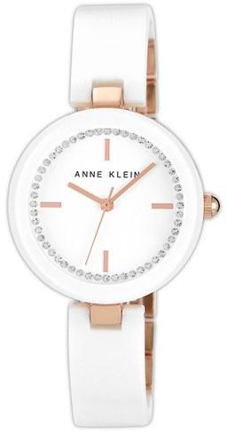 Anne Klein Ceramic Half Bangle Watch, 31mm