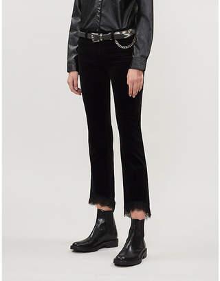 J Brand Selena bootcut velvet jeans