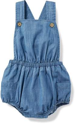 Chambray Bubble Romper for Baby $18.94 thestylecure.com