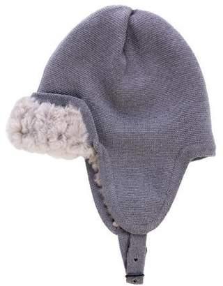 3.1 Phillip Lim Knit Fur Trapper Hat