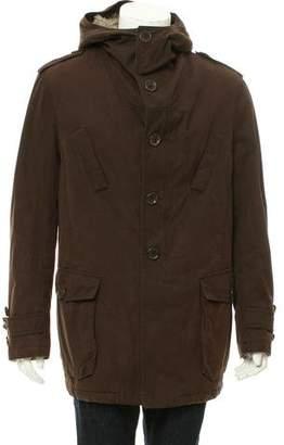 Bottega Veneta Woven Zip-Up Jacket