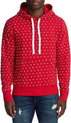 True Religion MENS MONOGRAM TR PULLOVER HOODIE