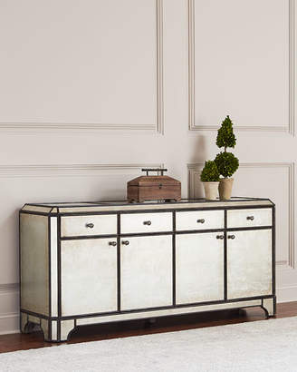 Hooker Furniture Garth Eglomise Entertainment Console