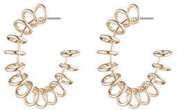 Dannijo Sargent Hoop Earrings