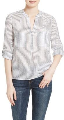 Women's Joie Alona Cotton Popover $198 thestylecure.com