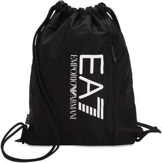 Train Prime Nylon Drawstring Backpack