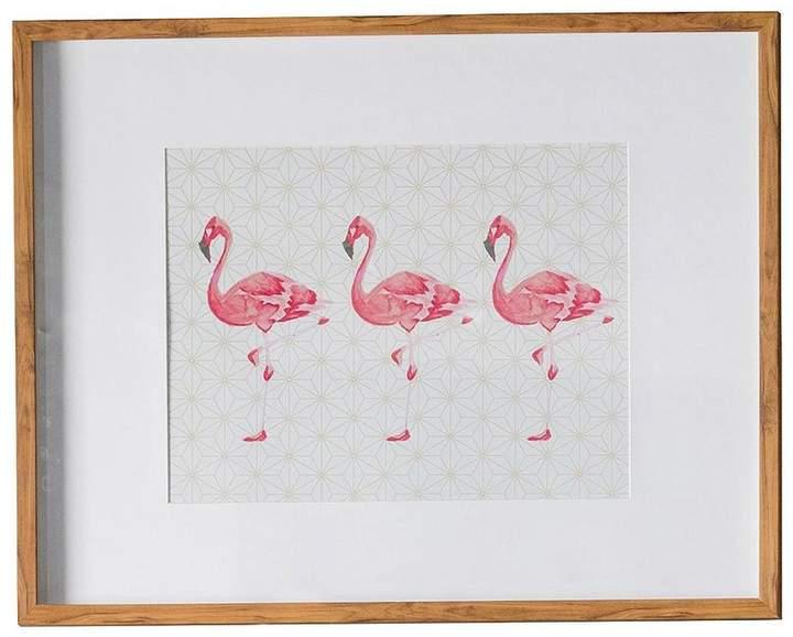 Flamingos Crossing Framed Wall Art – 74 X 58.5 Cm