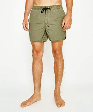 Ksubi Bowie Boardshort Faded Army
