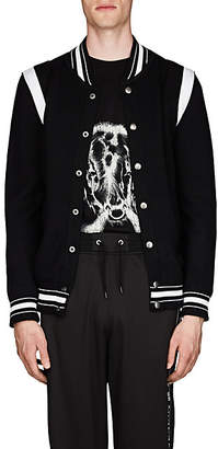 Givenchy Men's 4G-Embroidered Virgin Wool Jacket - Black