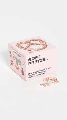 Areaware Gift Boutique Soft Pretzel Little Puzzle Thing