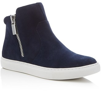 Kenneth Cole Kiera High Top Sneakers $130 thestylecure.com