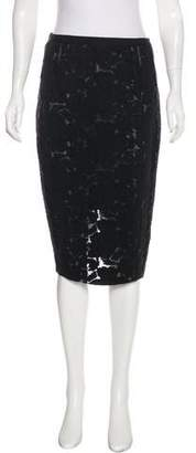 Nina Ricci Wool & Silk Embroidered Skirt w/ Tags