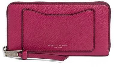 Marc JacobsWomen's Marc Jacobs 'Recruit Vertical' Leather Wallet - Pink