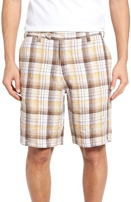 Men's Tommy Bahama Island Duo Reversible Linen Shorts $110 thestylecure.com