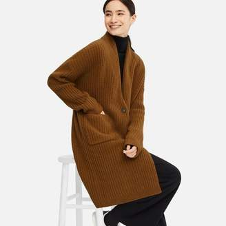 Uniqlo WOMEN Wool Ribbed Knitted Coat