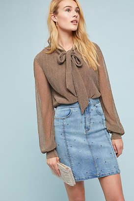 Steele Studded Denim Skirt