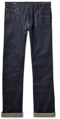 Visvim Social Sculpture 01 Slim-Fit Raw Selvedge Denim Jeans - Men - Blue