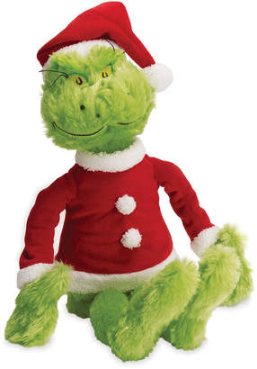 Dr. Seuss Manhattan Toy The Grinch In Santa Suit Soft Toy