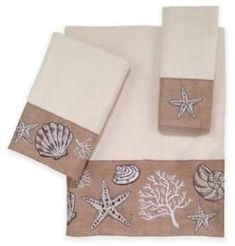 Ocean Gems Bath Towel in Ivory