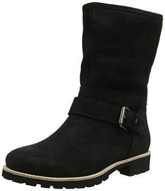 6b077c14a4e750 Panama Jack Women s Singapur Igloo Ankle Boots Black B37
