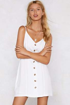 Nasty Gal Keep On the Sunny Side Mini Dress