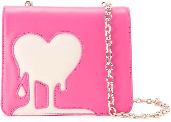 Love MoschinoLove Moschino melted heart crossbody bag