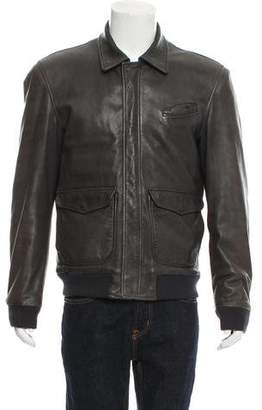 BLK DNM Padded Leather Jacket