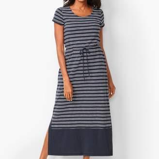 Talbots Stripe Maxi Dress