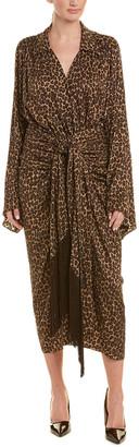 Michael Kors Silk Kimono Dress