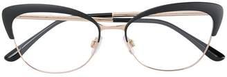 Dolce & Gabbana Eyewear cat-eye frame glasses