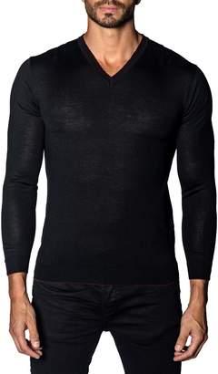 Jared Lang Trim Fit V-Neck Sweater