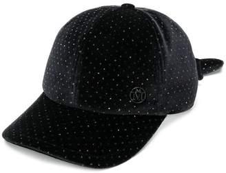 Maison Michel rear bow cap