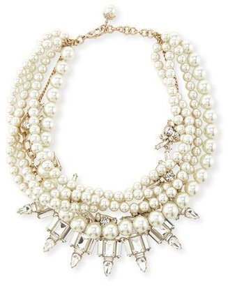 Lulu Frost Lustre Multi-Strand Statement Necklace $495 thestylecure.com
