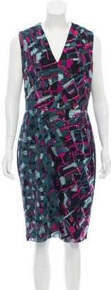 J. Mendel Embellished Shift Dress
