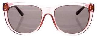 Tory Burch Square Tinted Sunglasses