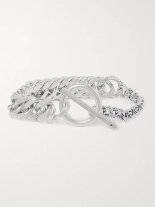 Bottega Veneta Sterling Silver Chain Bracelet