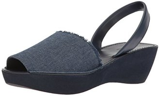 Kenneth Cole Reaction Women's Fine Glass Wedge Sandal $49 thestylecure.com