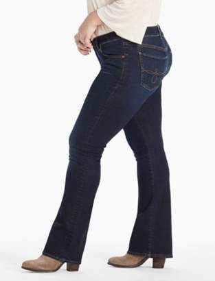 Lucky Brand PLUS SIZE GINGER BOOTCUT JEAN IN TWILIGHT BLUE