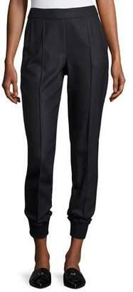 St. John Birdseye Skinny Pants