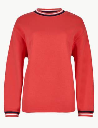 Marks and Spencer Round Neck Long Sleeve Sweatshirt