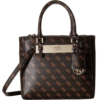 GUESS Isla Small Status Satchel $110 thestylecure.com