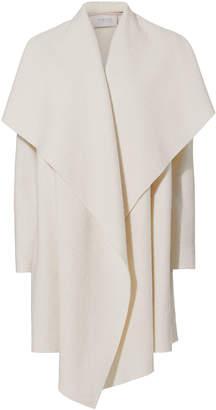 Harris Wharf London Ivory Blanket Belted Coat