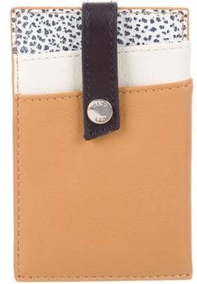 WANT Les Essentiels Tricolor Leather Card Case