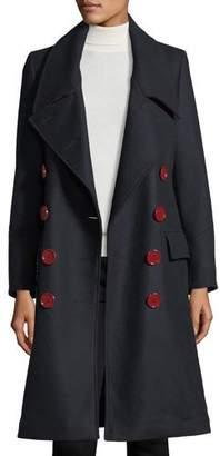Burberry Benington Double-Breasted Wool Coat