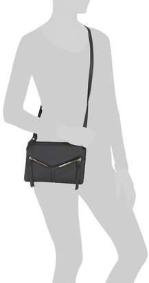 Flap Front Zipper Crossbody