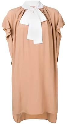 No.21 ruffled short dress
