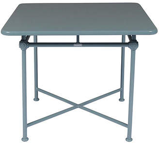 1800 Square Outdoor Dining Table - Blue - TECTONA