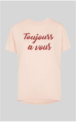 Whistles Toujours A Vous Tshirt