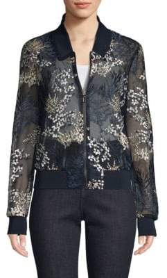 Elie Tahari Brandy Sheer Jacket