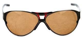 Valentino Tortoiseshell Gradient Sunglasses